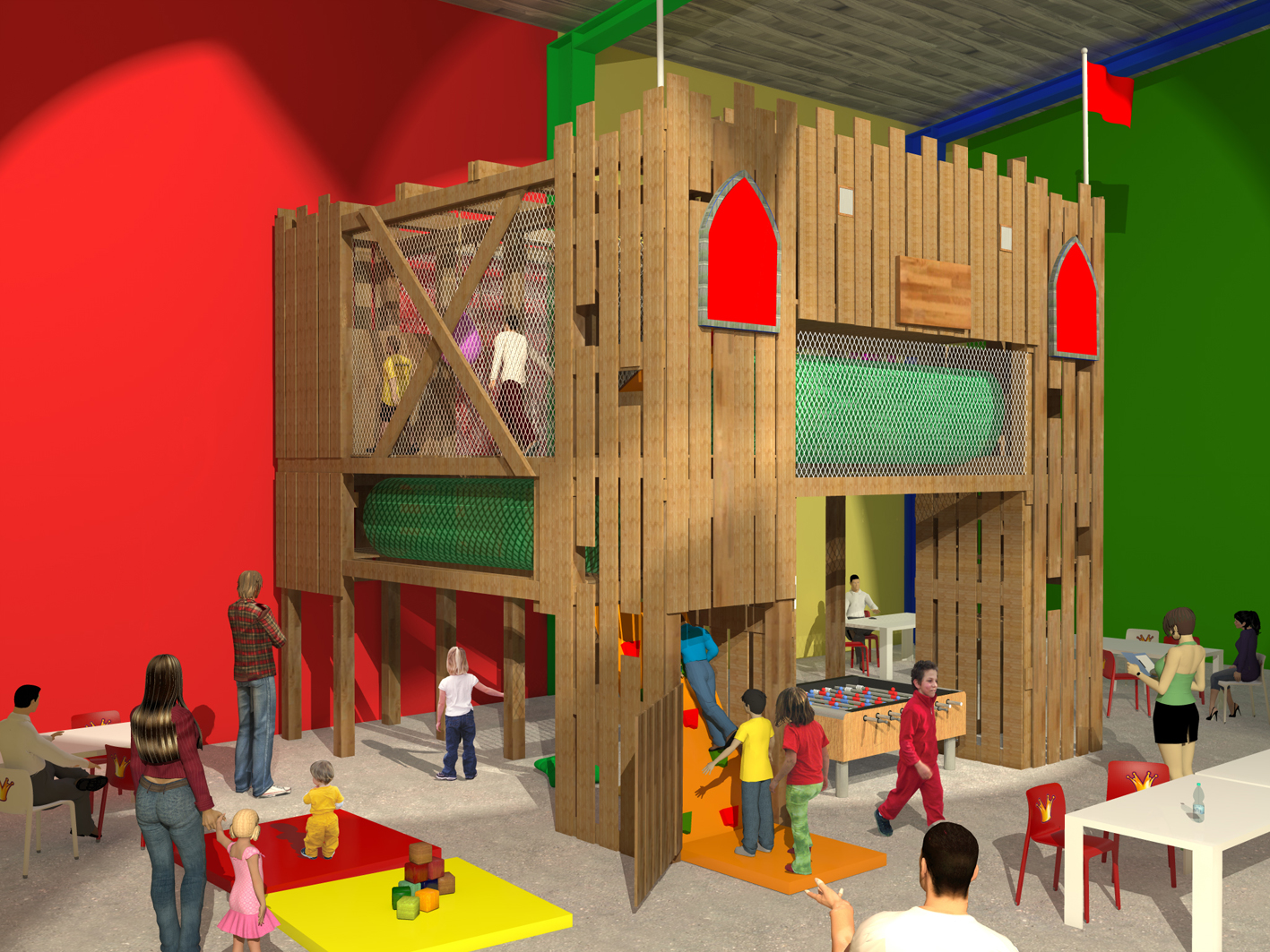 Acrocabane® version INDOOR