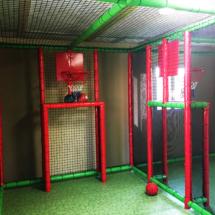 terrain multisport avec vue intérieure