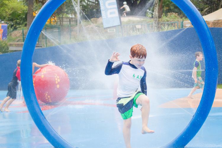 Upper Play, aire de jeux aquatique ludique Waterplay