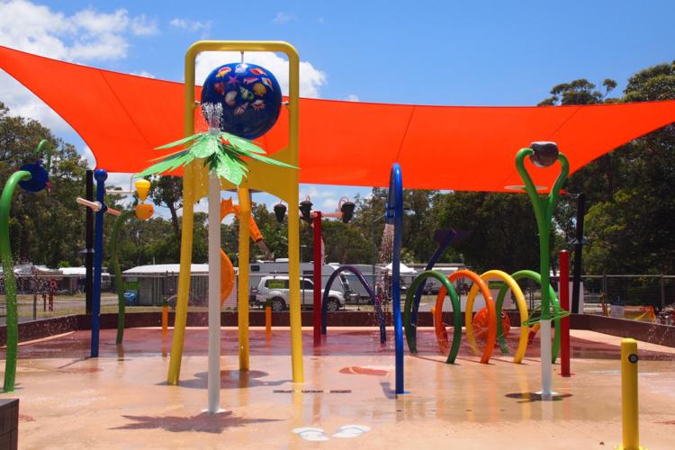 Upper Play, aire de jeux aquatique couverte Waterplay