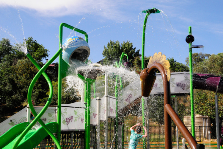 Upper Play, aire de jeux structure Waterplay