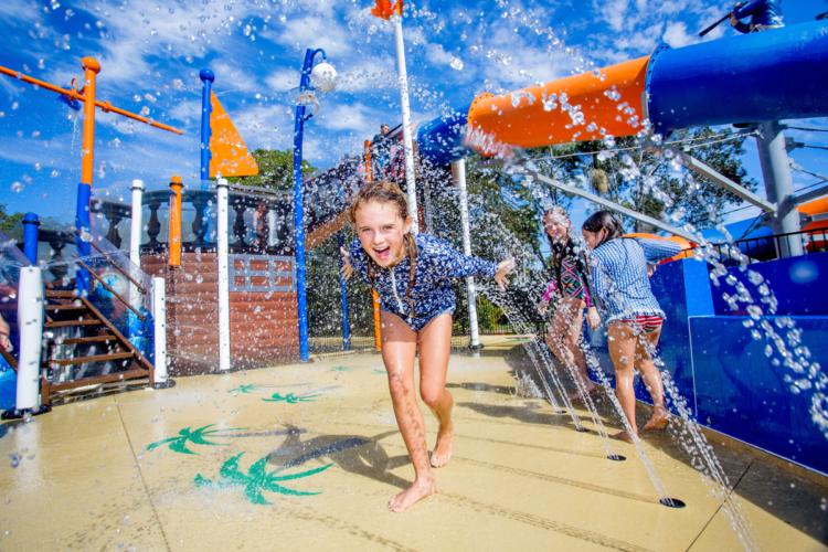 Upper Play, aire de jeux aquatique thématisée Waterplay
