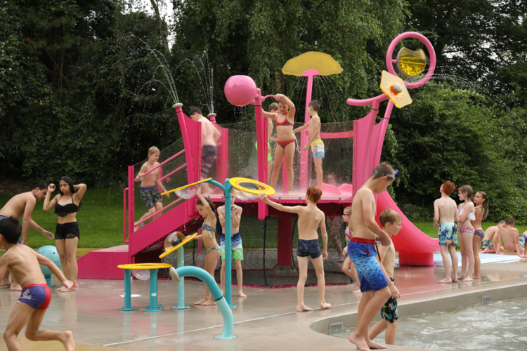 Upper Play, structure aquatique multi activités waterplay