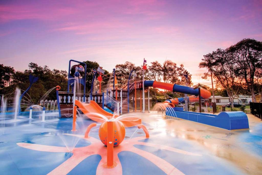 Upper Play, aire de jeux aquatique Waterplay